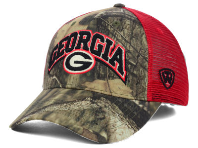 Georgia Bulldogs Top of the World NCAA Trapper Meshback Hat