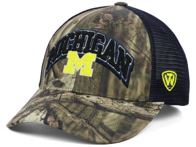 Michigan Wolverines Top of the World NCAA Trapper Meshback Hat