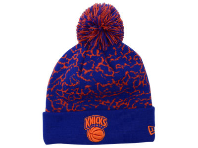 New York Knicks New Era NBA Hardwood Classics Pomstatic Knit