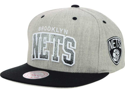 Brooklyn Nets Mitchell and Ness NBA Heather Gradient Snapback Cap