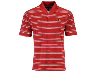 Louisville Cardinals adidas NCAA Men's Puremotion Stripe Polo Shirt