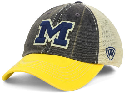 Michigan Wolverines Top of the World NCAA Terrain Meshback Cap