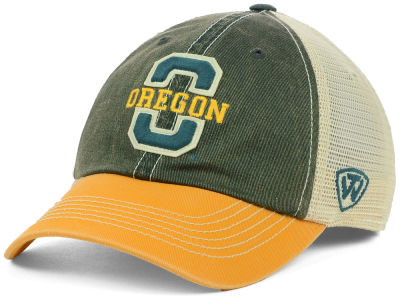 Oregon Ducks Top of the World NCAA Terrain Meshback Cap