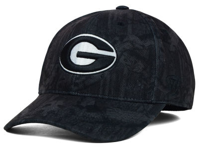 Georgia Bulldogs Top of the World NCAA Mossy Base Memory-Fit Cap