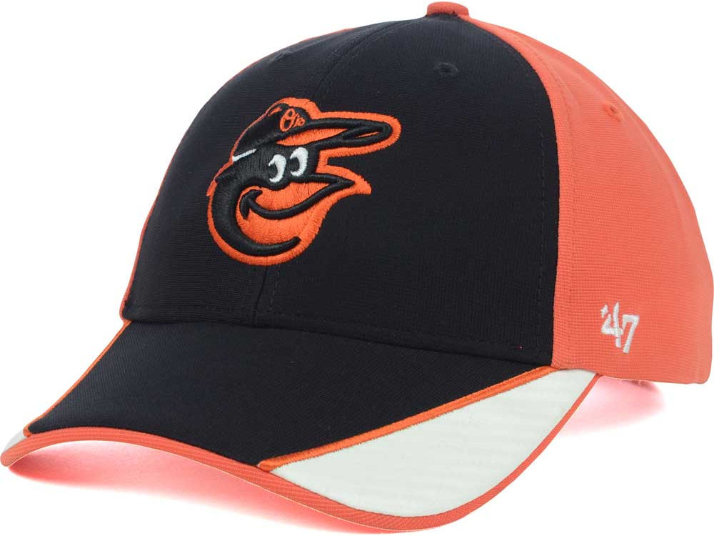 ab8154cd56c netherlands baltimore orioles 47 brand lets go os clean up adjustable hat  black 97c7c 5ab3b  czech baltimore orioles mlb coldstrom cap b680c 8bf62