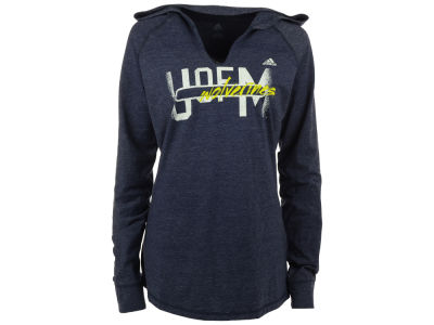 Michigan Wolverines adidas NCAA Women's See Me Now Pullover Hooded Shirt