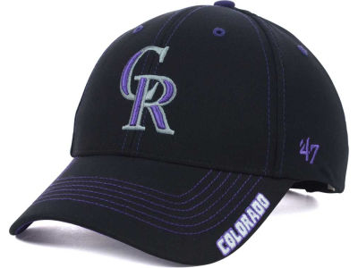 Colorado Rockies '47 MLB Kids Twig Adjustable Cap