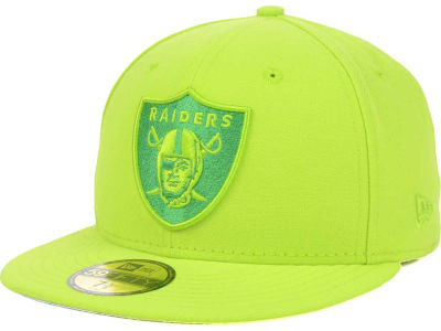 Oakland Raiders New Era NFL Tonal Pop Basic 59FIFTY Cap