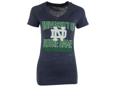 Notre Dame Fighting Irish adidas NCAA With Honors V-Neck T-Shirt