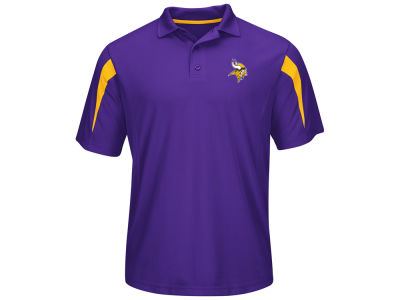 Minnesota Vikings NFL Field Classic Synthetic Polo