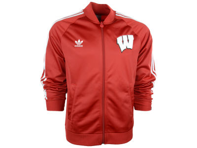 Wisconsin Badgers adidas NCAA Legacy Track Jacket