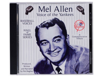 New York Yankees Mel Allen Classic Announcer CD
