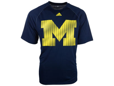 Michigan Wolverines adidas NCAA Razor Logo T-Shirt