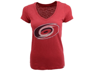 Carolina Hurricanes '47 NHL Womens Vneck Scrum Hockey T-Shirt