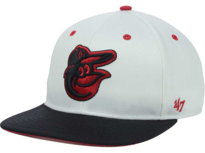 Baltimore Orioles '47 MLB Red Under Snapback Cap