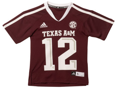 Texas A&M Aggies adidas NCAA Youth Replica Football Jersey