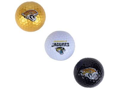 Jacksonville Jaguars 3-pack Golf Ball Set