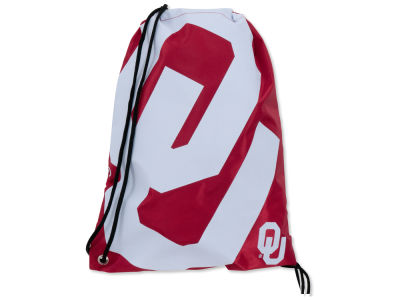 Oklahoma Sooners Big Logo Drawstring Backpack