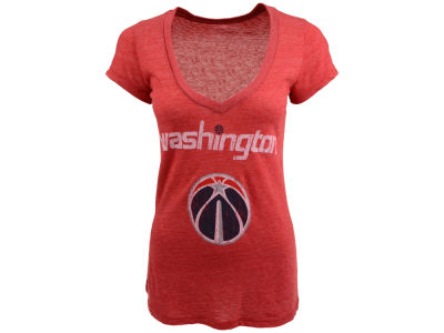 Washington Wizards NBA Womens Triblend Vneck T-Shirt