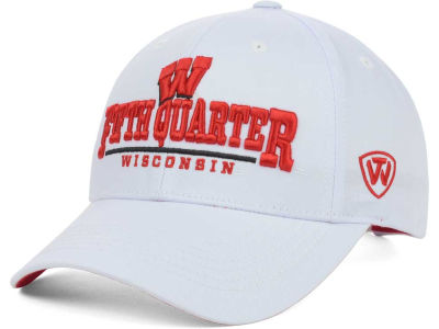 Wisconsin Badgers NCAA 2 for $25 Top of the World NCAA Fan Favorite Cap