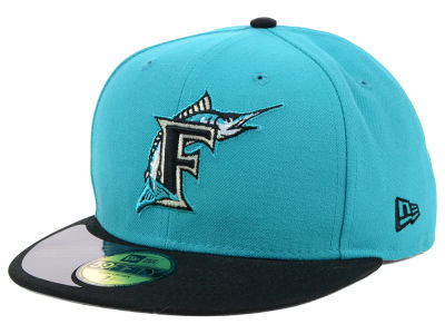 Florida Marlins New Era MLB High Crown Legacy Collection 59FIFTY Cap