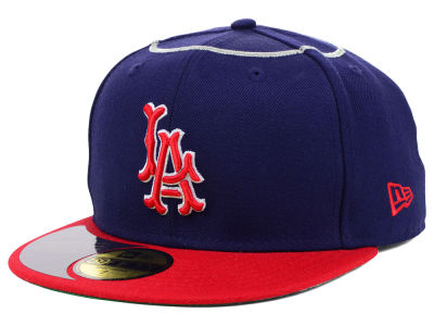 Los Angeles Angels New Era MLB High Crown Legacy Collection 59FIFTY Cap