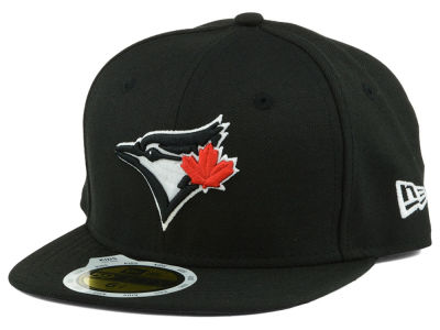 Toronto Blue Jays New Era MLB Black and White Fashion 59FIFTY Cap