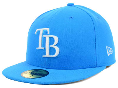 Tampa Bay Rays New Era MLB C-Dub 59FIFTY Cap