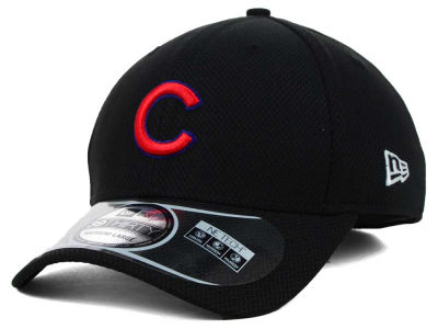 Chicago Cubs New Era MLB Diamond Era Black 39THIRTY Cap