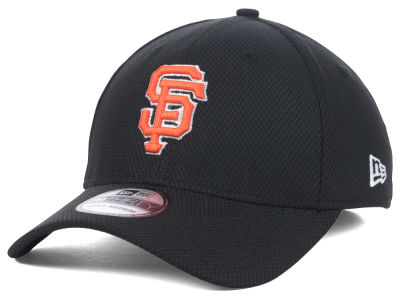 San Francisco Giants New Era MLB Diamond Era Black 39THIRTY Cap