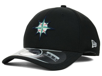 Seattle Mariners New Era MLB Diamond Era Black 39THIRTY Cap