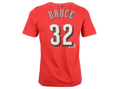 Cincinnati Reds Jay Bruce MLB Youth Official Player T-Shirt