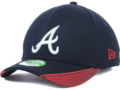Atlanta Braves New Era MLB Youth Vertical Strike 39THIRTY Cap