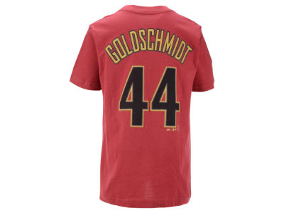 Arizona Diamondbacks Paul Goldschmidt  Majestic MLB Youth Official Player T-Shirt