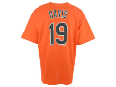 Baltimore Orioles Chris Davis MLB Youth Official Player T-Shirt