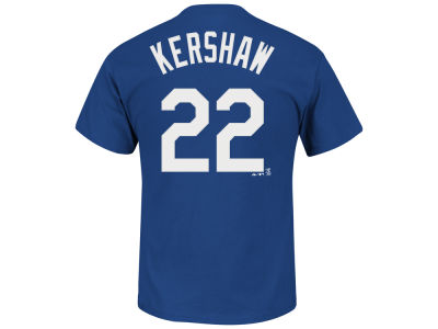 Los Angeles Dodgers Clayton Kershaw MLB Youth Official Player T-Shirt