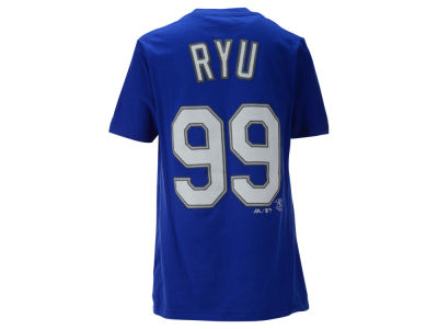 Los Angeles Dodgers Hyun-Jin Ryu MLB Youth Official Player T-Shirt
