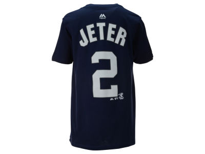 New York Yankees Derek Jeter MLB Youth Official Player T-Shirt