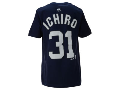 New York Yankees Ichiro Suzuki MLB Youth Official Player T-Shirt