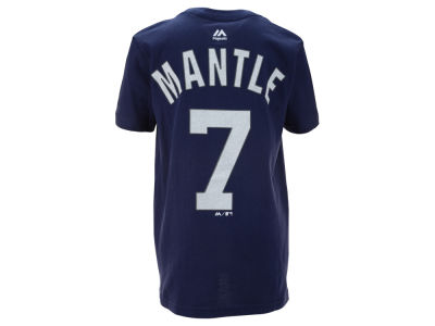 New York Yankees Mickey Mantle MLB Youth Official Player T-Shirt