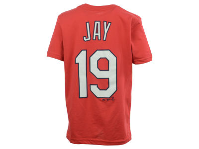 St. Louis Cardinals Jon Jay Majestic MLB Youth Official Player T-Shirt