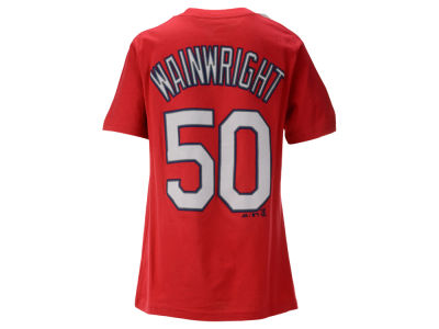 St. Louis Cardinals Adam Wainwright Majestic MLB Youth Official Player T-Shirt