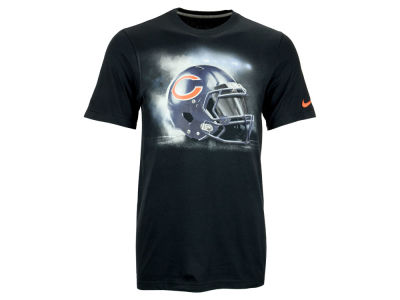 Chicago Bears Nike NFL Vapor Helmet T-Shirt