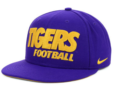 LSU Tigers Nike NCAA Football Snapback