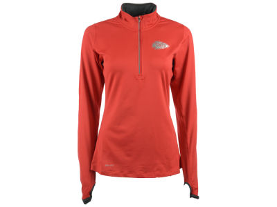 Kansas City Chiefs Nike NFL Women's Element Half Zip Pullover Shirt
