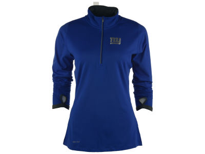 New York Giants Nike NFL Women's Element Half Zip Pullover Shirt