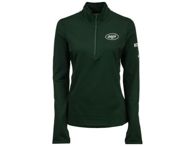 New York Jets Nike NFL Women's Element Half Zip Pullover Shirt