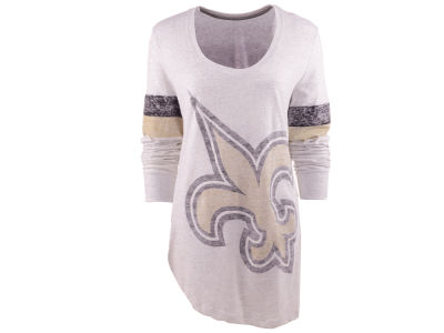 New Orleans Saints Nike NFL Womens Take It Long Long Sleeve T-Shirt