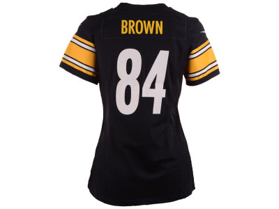 Pittsburgh Steelers Antonio Brown Nike NFL Women's Game Jersey