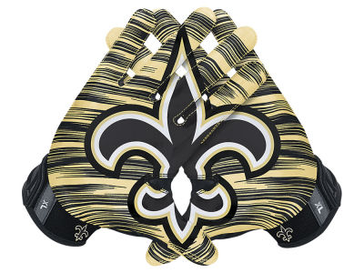 New Orleans Saints Nike 3.0 Vapor Jet Gloves